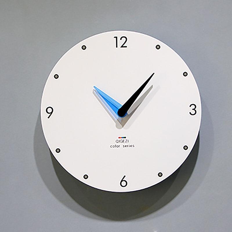 Nordic Wall Clock Modern Design Wall Clock Art Bedroom Creative Pow Patrol Watch Mechanism Home Decor Wood Relogio Parede Clocks