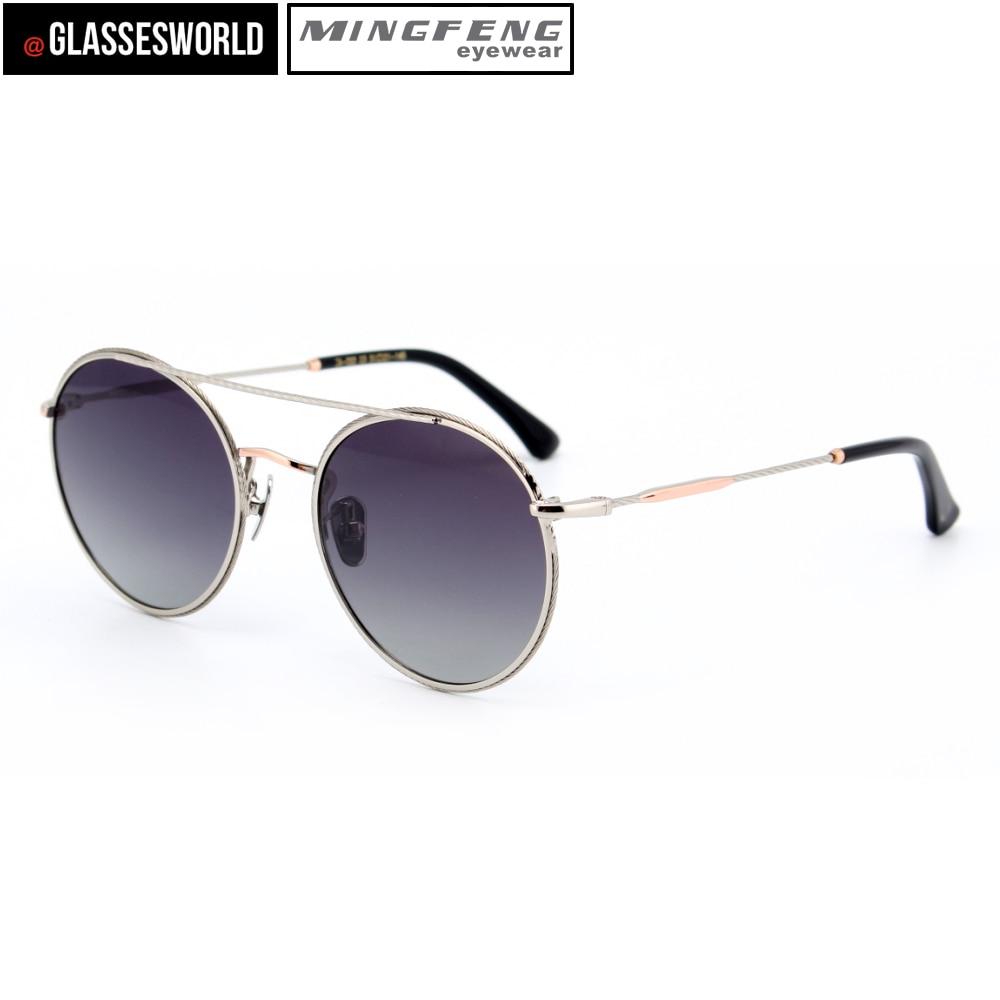 Sonnenbrille Runde Mode Uv400 Qualität M2578 Hohe Bule brown HEqwO5Az