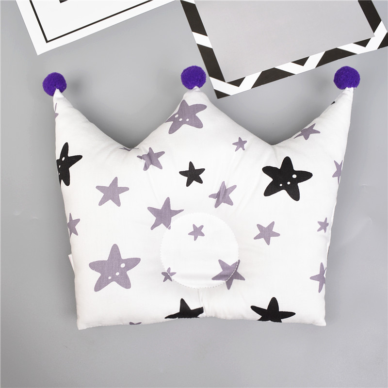 Shaping Pillow Baby Newborn Cute Backrest Cushion 0-1 Years Old Anti-head Correction Pillow Bedroom Bedding Room Decoration 10