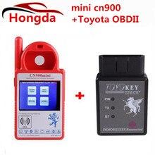 Оригинальные мини cn900 ключ чайник для 4c/4d/46g чипов smart cn-900 ключевых программист toyota obdii адаптер многоязычная поддерживается