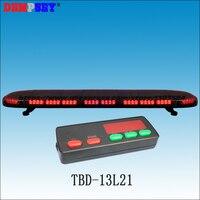 Tbd-13l21 высокое качество светодиодный супер яркий 1.2 м красный световой, огонь/полиции чрезвычайным предупреждающий световой, DC12V/24 В, с ...