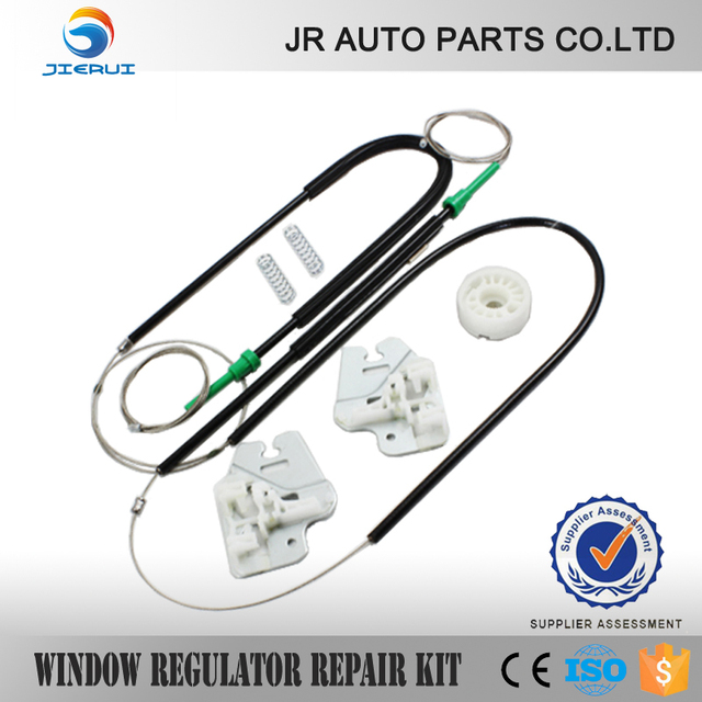 ISO9001 FOR BMW E46 WINDOW REGULATOR REPAIR KIT with METAL SLIDER FRONT LEFT 98-01
