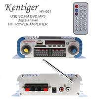 2 Channels Hifi Universal Digital Car Audio Stereo Power Amplifier Sound Mode Audio Music Player Support USB / FM / SD