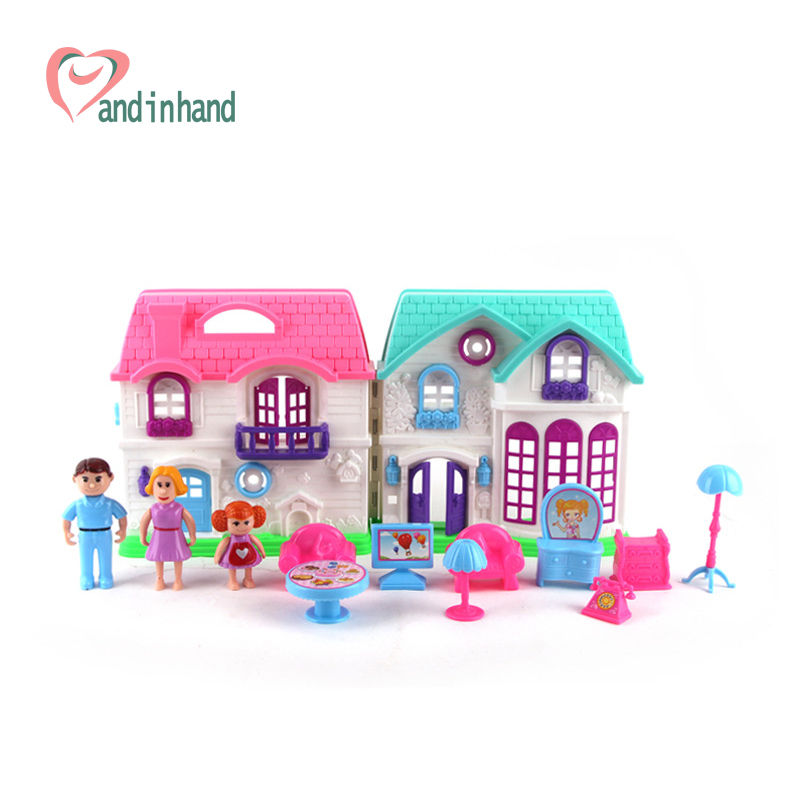 Plastic Dollhouse Furniture Set Toys Chair Table Happy Family House Pretend  Play Juguetes Classic Toys For. Online Get Cheap Family Room Furniture Sets  Aliexpress com