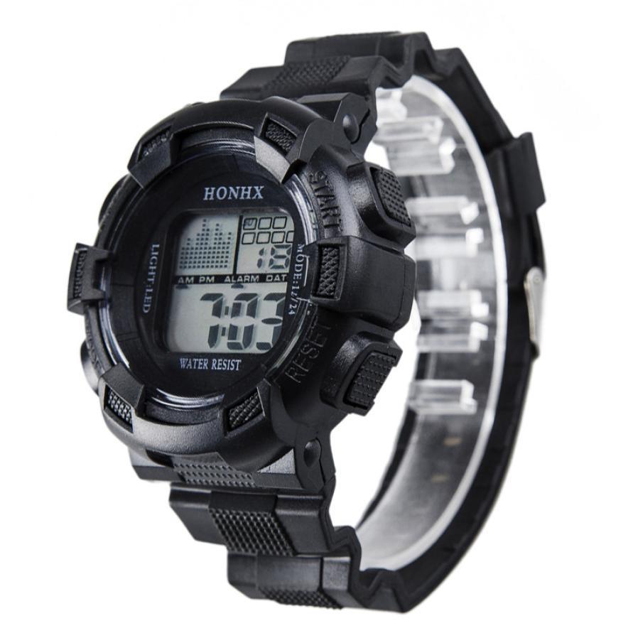 Μόδα ανδρών ψηφιακή LED αναλογικό - Ανδρικά ρολόγια - Φωτογραφία 5