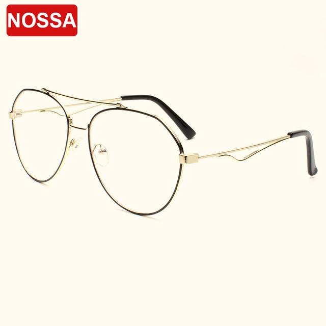 528066ec075 Aliexpress.com   Buy Brand Designer Optical Glasses Frames New Fashion  Korea Style Women Men Eyeglasses Elegant Male Female Metal Cool Eyewear  Frame from ...