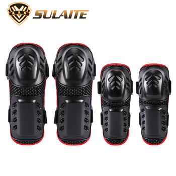 Ochraniacze na kolana motocyklowe ochraniacze na kolana suwaki wyścigi motocyklowe ochraniacze na kolana Ski Snowboard Skate Motocross Protection tanie i dobre opinie SULAITE GT006