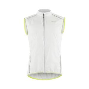 Image 3 - ARSUXEO светоотражающий мужской жилет для велоспорта ветронепроницаемый велосипедный жилет для бега с карманом на молнии сзади Светоотражающая одежда
