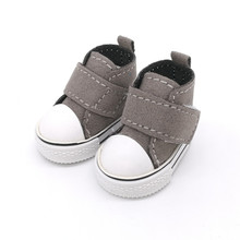 5 CM Mini Toy Shoes Casual BJD Snickers Shoes for BJD Dolls,1/6 BJD Doll Shoes Toy Boots,5 Pairs/lot Fashion Dolls Accessories(China)