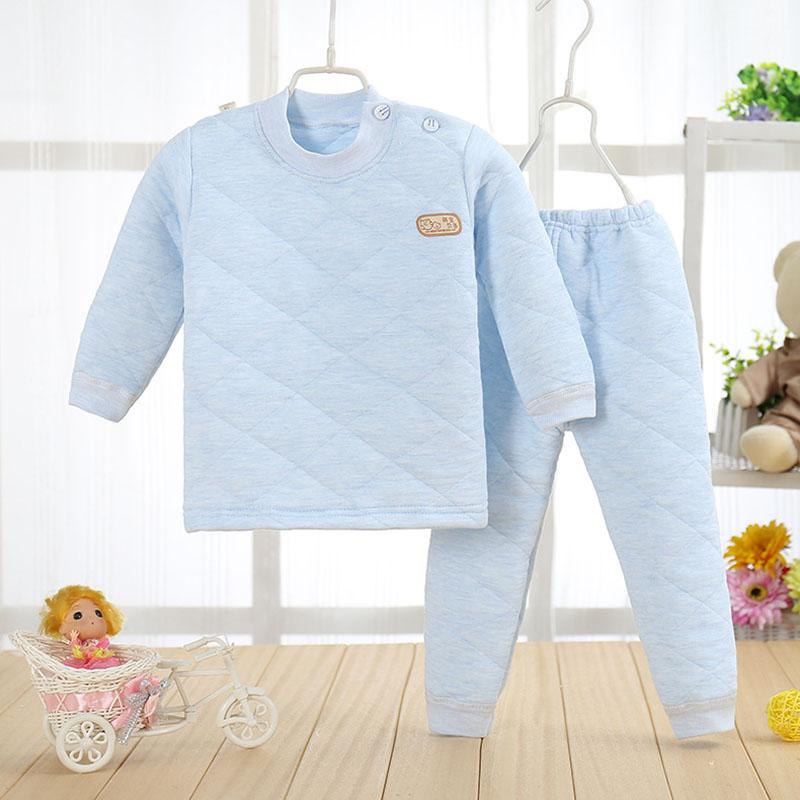 Betrouwbaar Baby Pyjama 1-2 T Meisjes Jongens Winter Warme Pyjama Badjassen A101 Katoen Lange Mouwen Baby Slaper Pak Nachtkleding Voor Kinderen Koop Altijd Goed