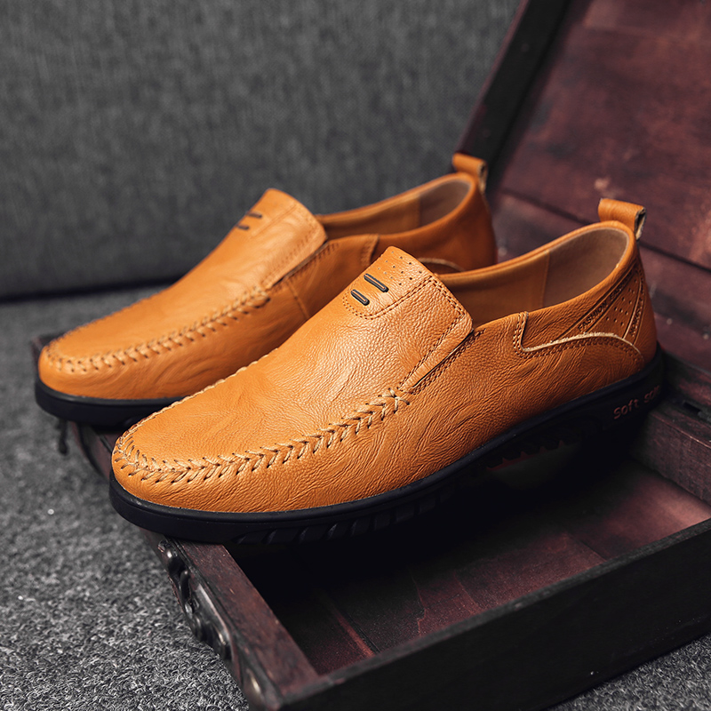 HTB1Co4ZaPDuK1Rjy1zjq6zraFXa0 Genuine Leather Men Casual Shoes Luxury Brand Designer Mens Loafers Moccasins Breathable Slip on Driving Shoes Plus Size 37-47