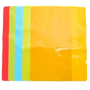 Image 2 - Tapete de silicona para hornear, aislamiento calor del horno, tapetes de galletas, forro antiadherente, utensilios de cocina gruesos