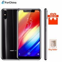 HOMTOM H10 5.85 inch Android 8.1 4GB+64GB Mobile Phone Face ID Fingerprint ID MTK6750T Octa Core 16MP 8MP OTA OTG Smartphone