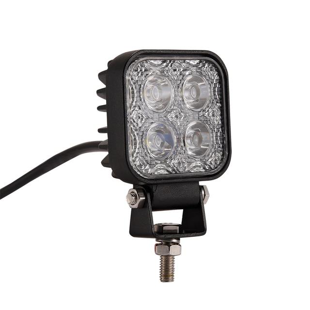 2 stks 12 w Auto LED Licht Offroad Bar voor SUV Truck 4WD AWD Suv ATV Golfkar 12 v 24 v Rijden Lamp Motor Licht