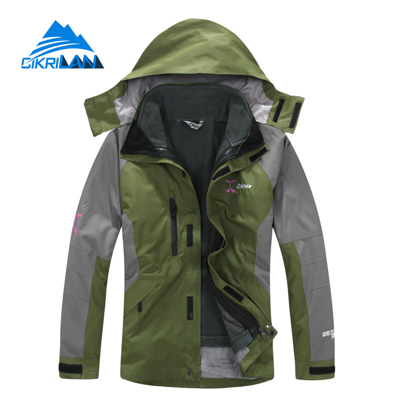 New Mens Winter Camping Hiking Climbing Outdoor Jacket Men Waterproof Windstopper Jaqueta Masculino Trekking Skiing Sports Coat men and women winter ski snowboarding climbing hiking trekking windproof waterproof warm hooded jacket coat outwear s m l xl