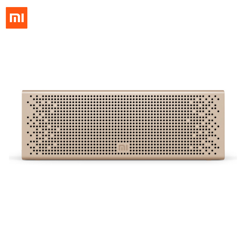 Xiaomi Mi Bluetooth Speaker Wireless Stereo Mini Portable MP3 Player Pocket Audio Support Handsfree TF Card AUX-in Original kubei 288b mini portable bluetooth v3 0 stereo mp3 speaker w tf mini usb black