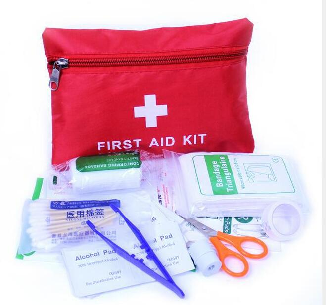 Outdoor First Aid Charter Portable Home First Aid Kit Field Supplies Medical Kit Self-defense Earthquake Emergency Box Wholesale
