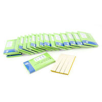 Yellow Rectangle Shaped Testing PH TEST 80 Paper Strip KIT 1 14 Scale 20 in 1