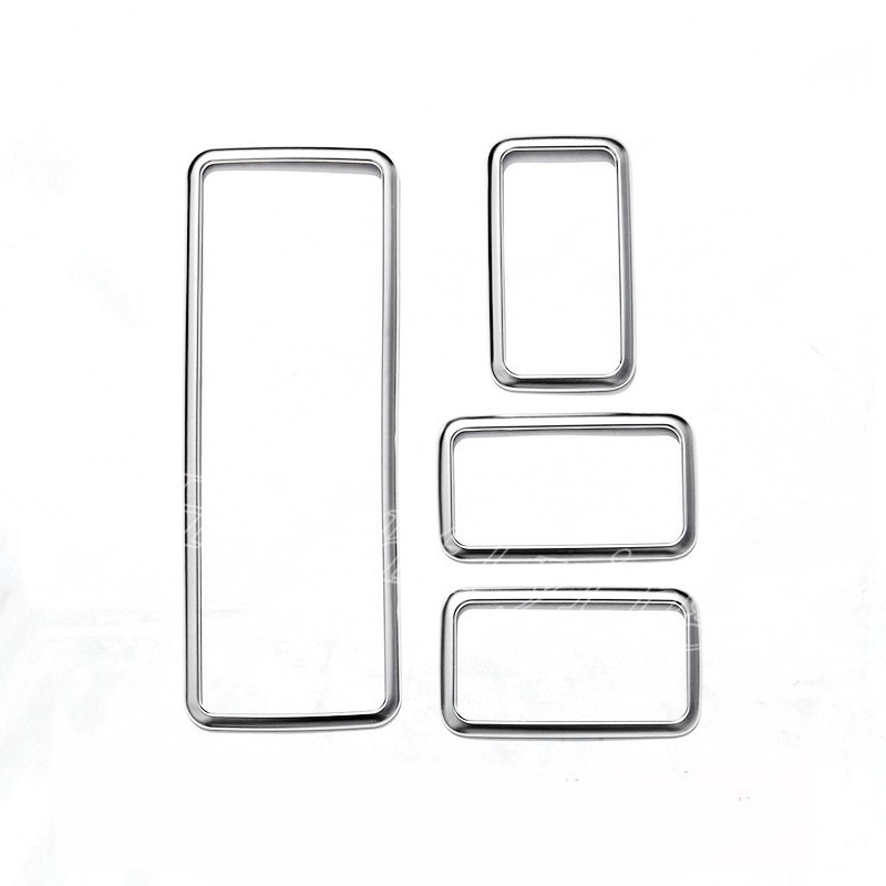 ABS Window Switch Button Cover Trim For Land Rover Range