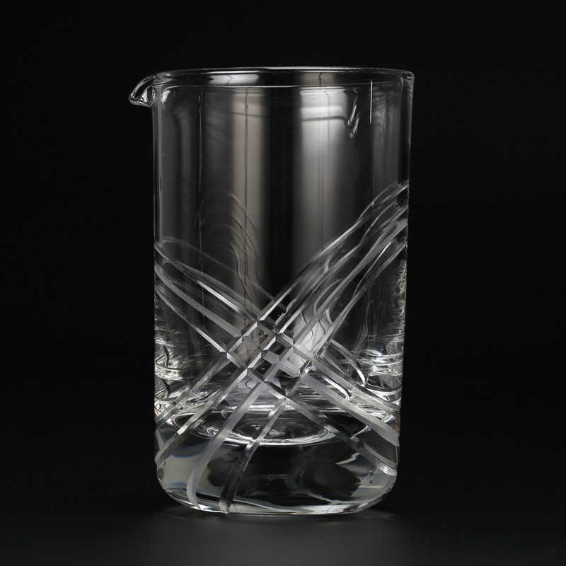 Kryształ pierścionki koktajlowe mieszania szkła-grube dno 20oz 600ml koktajl szkła-wybór dla amatorów, jak i plusy- idealny prezent
