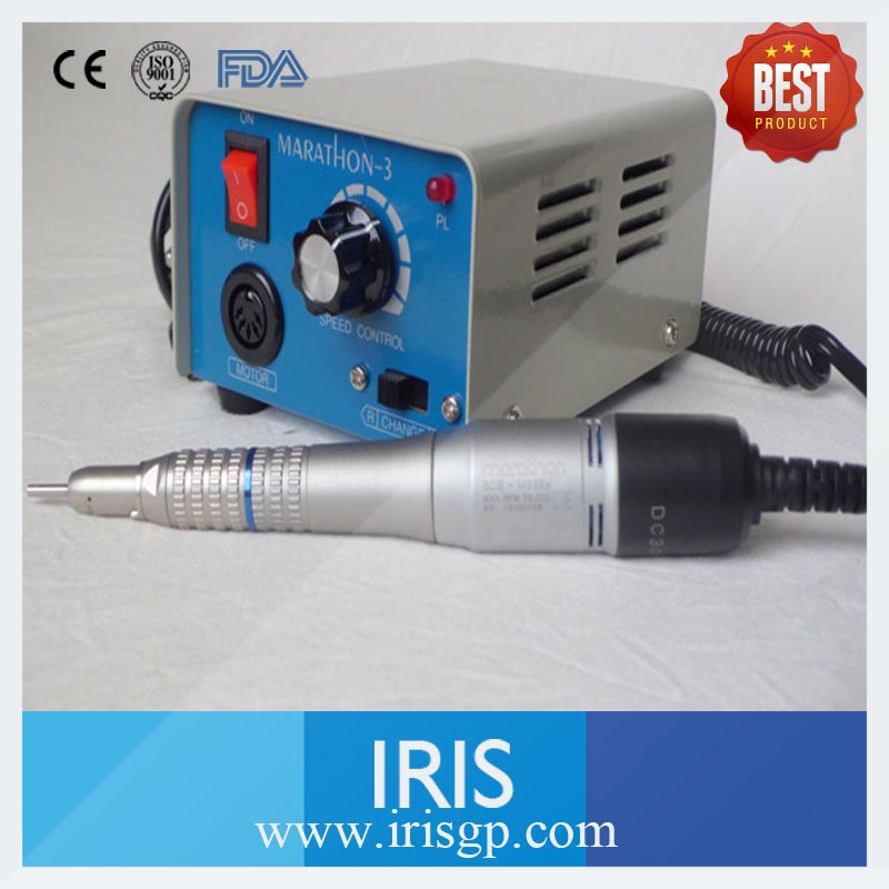 Dental Lab Equiment High Speed 35000rpm Grinder Marathon 3 M33E Straight or Contra Angle Micromotor Hand piece dental lab equipment polisher micromotor hand piece contra angle and straight high speed 50 000rpm electric grinder brushless