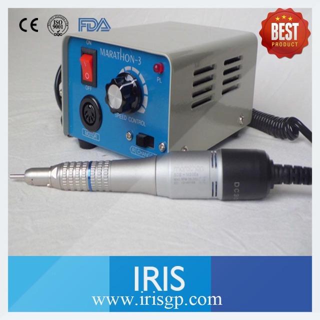 Equiment Laboratório Dental de Alta Velocidade de 35000 rpm Moedor Micromotor Maratona 3 M33E Em Linha Reta ou Contra Ângulo peça de Mão