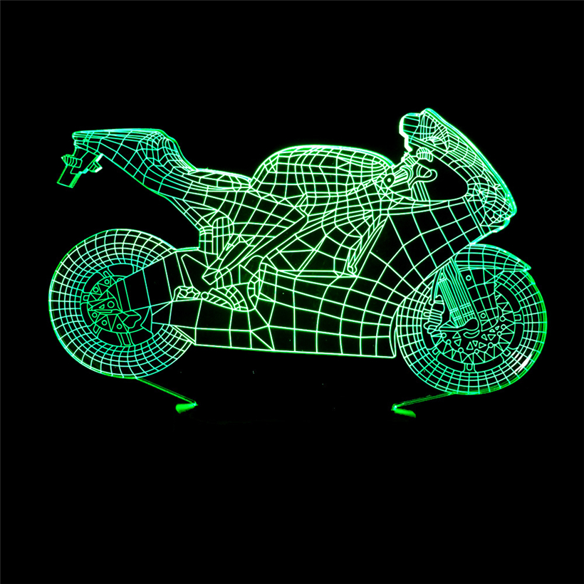 motorcycle 3D night light (6)