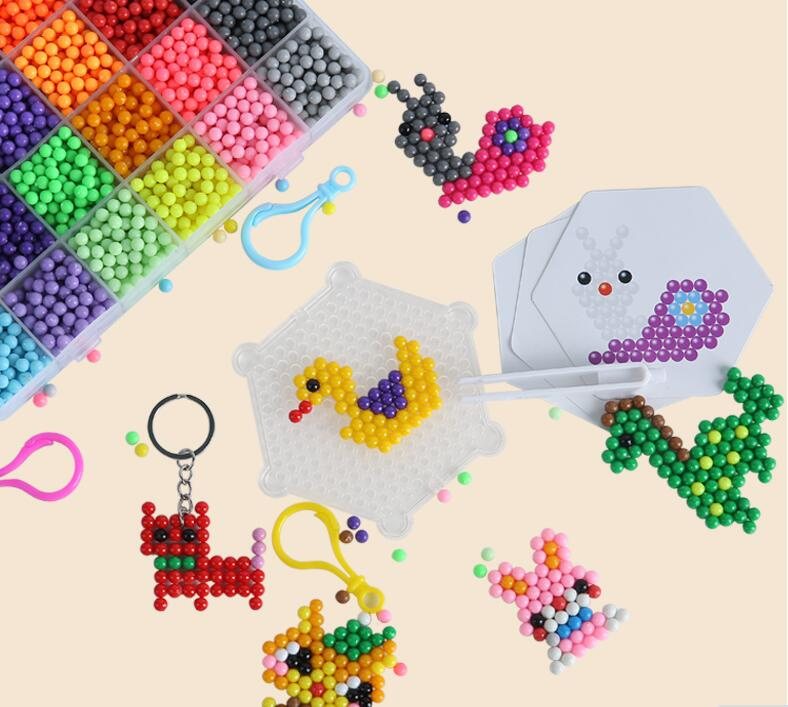 500pcs 5mm Selling DIY 3d aqua Puzzles Toy Perler Hama Beads Ball New Year Gift Perlen Learn Kids Toys 6