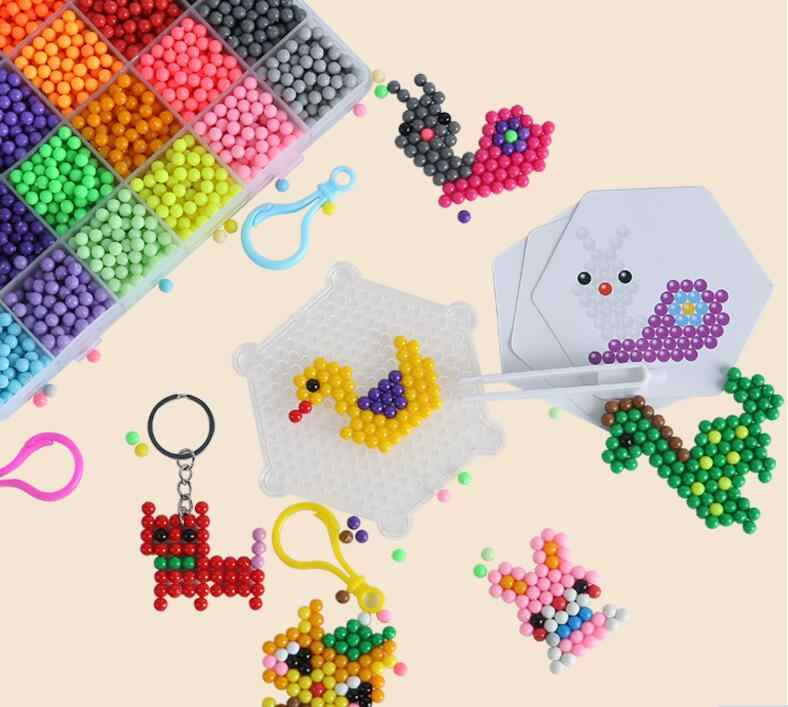 200 pz/borsa FAI DA TE di Acqua A Mano A Spruzzo Fare 3D fai da te giocattolo Di Puzzle Giocattoli Educativi per I Bambini Kit Palla