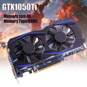 GTX1050TI 4GB DDR5 128Bit Graphics Card PCI-E Video Card for PC Gaming Video Card