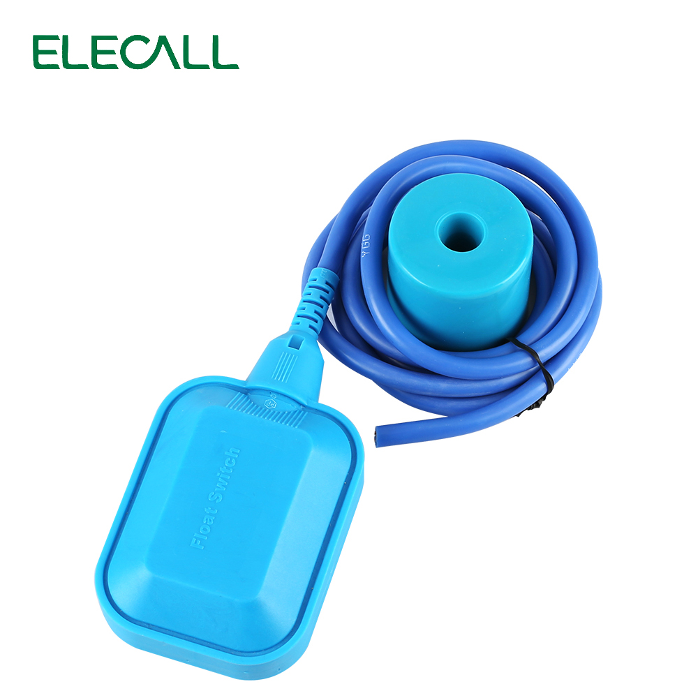 New Arrival 10M Controller Float Switch High-Temperature Silicone Wire Liquid Fluid Water Level Float Switch Contactor Sensor цена