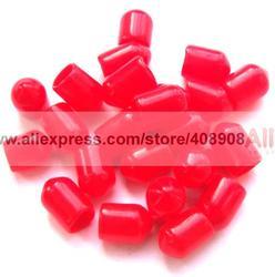 2000 sztuk plastikowe osłony Dust Cap czerwony dla RF złącze żeńskie SMA w Złącza od Lampy i oświetlenie na