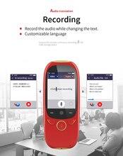 2019 новый стиль 2,0 дюймовый TFT IPS Интеллектуальный переводчик с WiFi и Bluetooth Can Online Dialogue Trans 75 язык