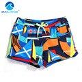 GAILANG Marca Mujer Pantalones Cortos ropa de Playa Boxeador Troncos Activo Bermudas Mujeres traje de Baño Trajes de Baño de Secado rápido Pantalones Cortos Ocasionales