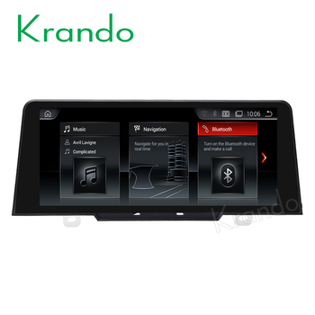 Krando Android 9.0 10.25'' car navigation system for BMW 1 Series F20 F21 2017 car audio multimedia radio player stereo