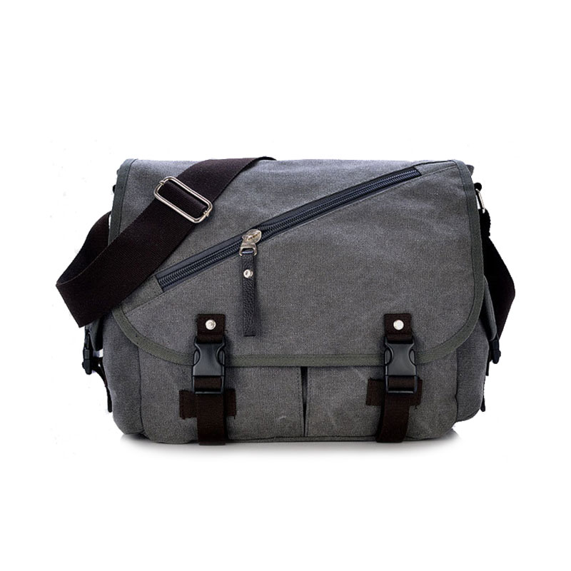 New Vintage Crossbody Bags for Men Military Canvas Shoulder Bag Satchels Casual Handbags School Man Messenger Travel Bags male casual messenger bag men shoulder bag man satchels handbags pu leather sling bag designer men crossbody travel bags li 1948