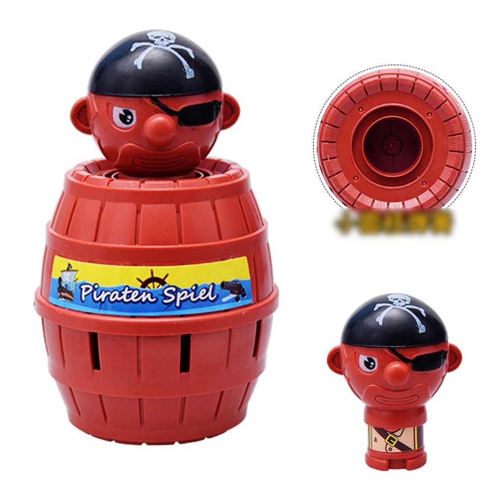 Pirate Bucket Game Toys Tricky Children Fun Board Games Toys Parent-Child Interactive Toys Party Toys Table Games