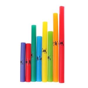 Image 4 - 1 paczka kolorowe muzyka dostrojony 8 zauważa instrumenty perkusyjne instrument strunowy rury C Major diatoniczna skali zestaw C D E F G A B C części acc