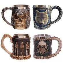 Halloween Christmas Gift Mug 300-400ML Double Wall 3D Coffee Tea Cups