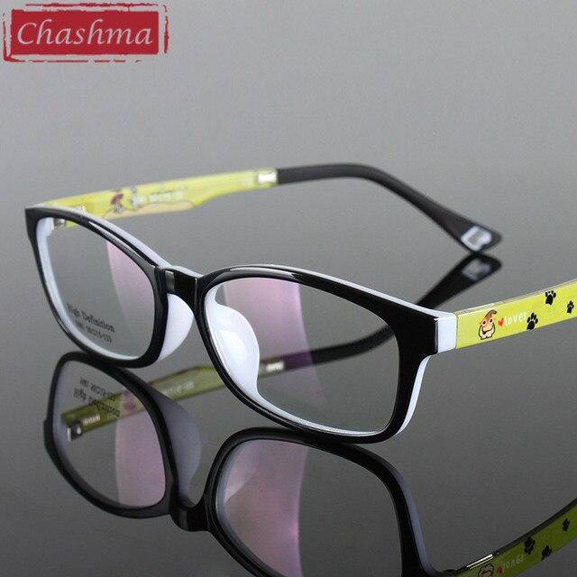 b78f5fb22 Chashma Qualidade Óculos Crianças Óculos Ópticos TR 90 Material Flexível  Menina e Menino Moda Óculos Vermelhos