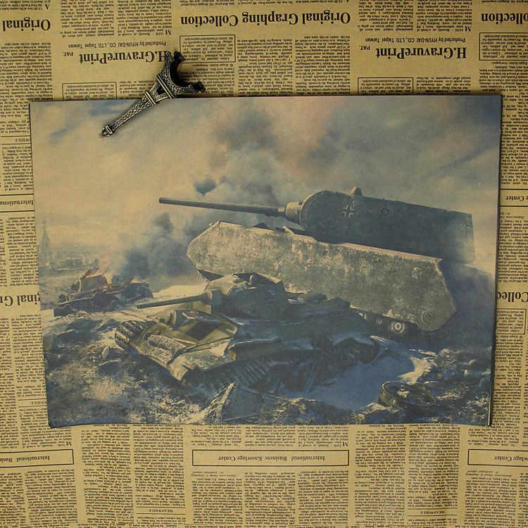 Welt der Tanks WOT EIN sammeln Die Zweite Weltkrieg Tank Von Einrichtungs dekoration Kraft Spiel Poster Zeichnung core Wand aufkleber