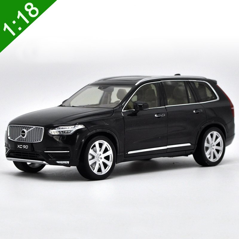 Diecast Vehicles Toys 1/18 Volvo Xc90 2015 Suv Alloy Diecast Metal Car Model