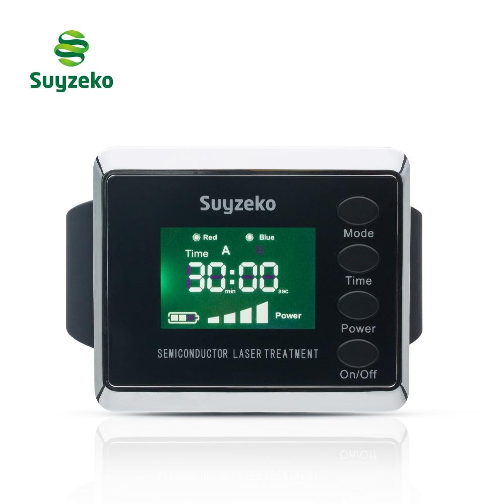 Medical equipment wrist type laser blood pressure reducing home remedy bio laser therapy watch цены онлайн