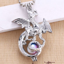 6pcs Silver Dragon Pearl CAGE (China)
