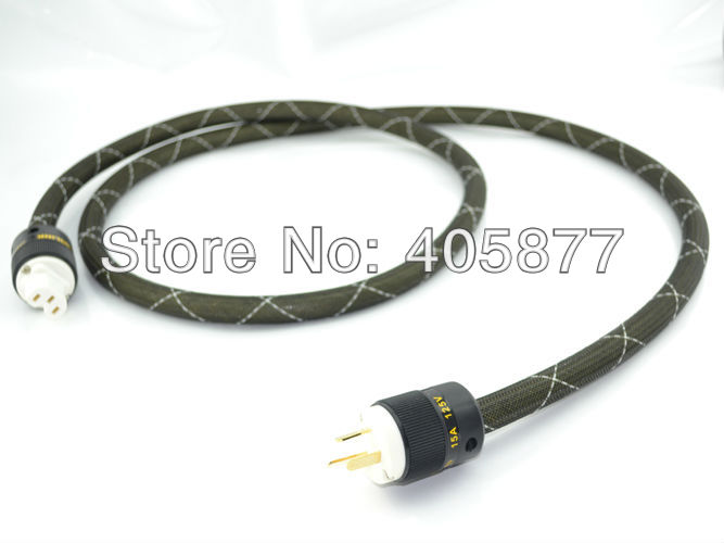 1.5M viborg audio M.C AU mains power cable Austrian power plug cable