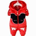 New 2015 Toddler Boys Clothing Set Winter Autumn Children Clothing Set Vetement Garcon Spiderman Kids Boys Clothes Sets