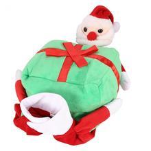 Dog Clothes Funny Santa Claus Christmas Dog Costumes