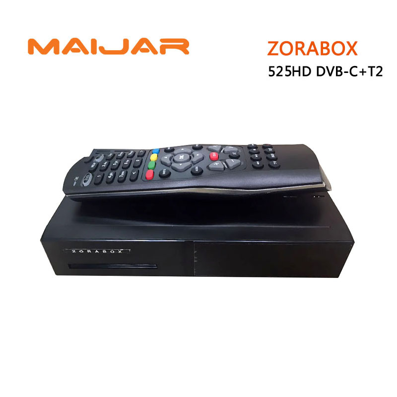 2pcs ZORABOX ZR525HD Linux Tv Set Top Box DVB-S2/C+T2 Triple Tuner DM525HD OEM H.265 streaming Full HD Decoder Cccam IPTV