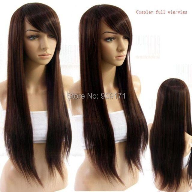 perruque femme en vrai cheveux