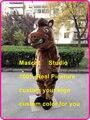 Коричневый лошадь костюм талисмана mustang жеребец пользовательские мультипликационный персонаж косплей mascotte карнавальный костюм fancy dress 41540